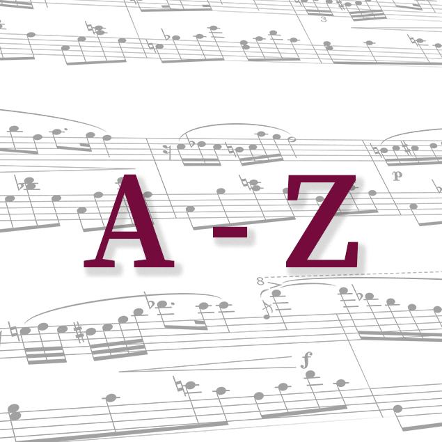 Komponisten A-Z